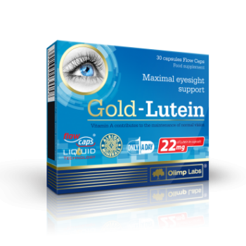Gold lutein 30 cps OLIMP LABS