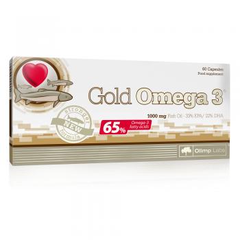 Gold omega 3  60 cps HESHOUTANG
