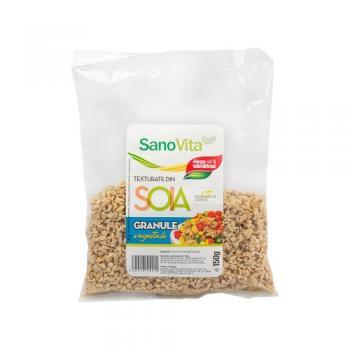 Granule vegetale din soia 150 gr SANO VITA