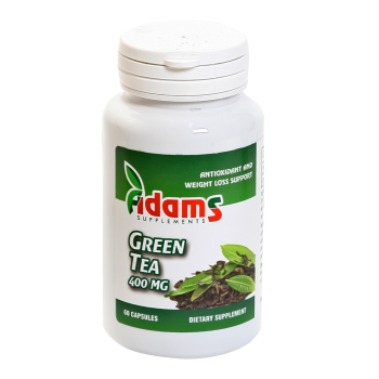 Green tea 400mg 60 cps ADAMS SUPPLEMENTS