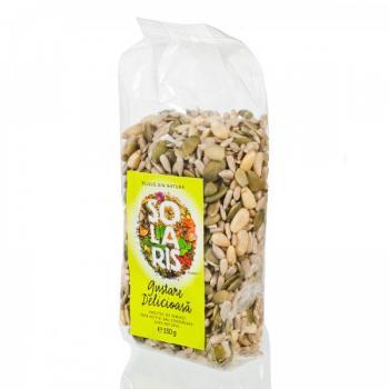 Gustare delicioasa, amestec de seminte 150 gr SOLARIS