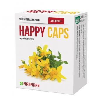 Happy caps -capsule antistres 30 cps PARAPHARM