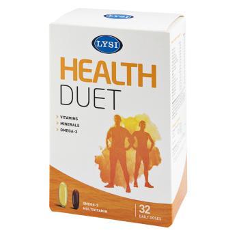 Health duet cu multivitamine 32 cps LYSI