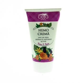 Hemo crema cu unt de shea si extracte naturale active 50 ml CETA