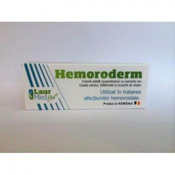 Hemoroderm supozitoare 10 gr LAUR MED