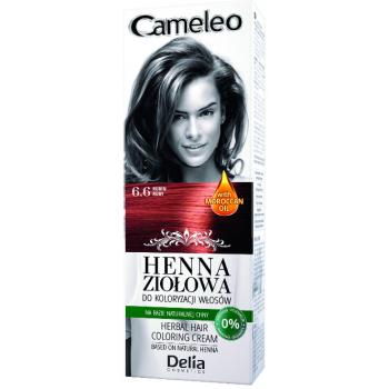 Henna crema color.6.6 ruby 75 gr DELIA COSMETICS