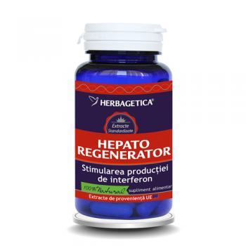 Hepato regenerator 30 cps HERBAGETICA