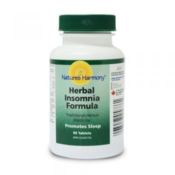 Herbal insomnia formula 90 tbl NATURES HARMONY