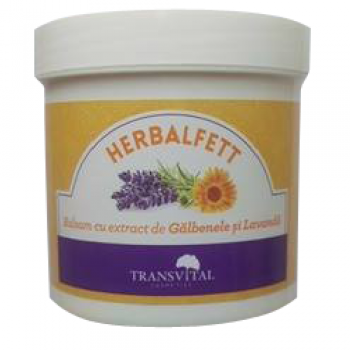 Herbalfett balsam galbenele si lavanda  250 ml PARAPHARM