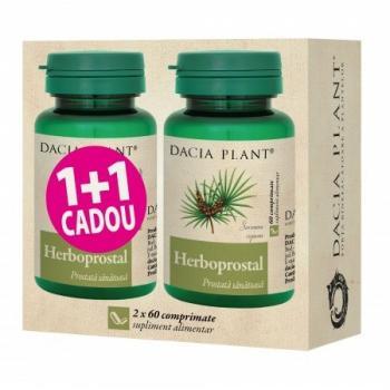Herboprostal 1+1 gratis 60+60 cpr DACIA PLANT