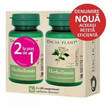 Herbotensin 60cpr 1+1 gratis 60 cpr DACIA PLANT