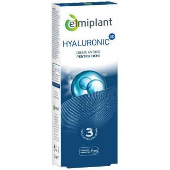 Hyaluronic 3d, crema antirid pentru ochi 15 ml ELMIPLANT