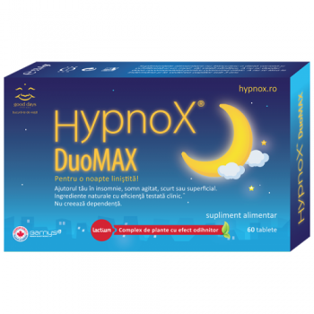 Hypnox duomax 60 tbl GOOD DAYS THERAPY