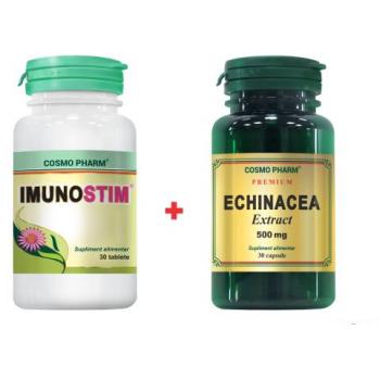 Imunostim + echinacea 30+30 cps COSMOPHARM