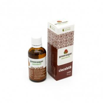 Indulcitor lichid cu aroma de ciocolata 50 ml REMEDIA