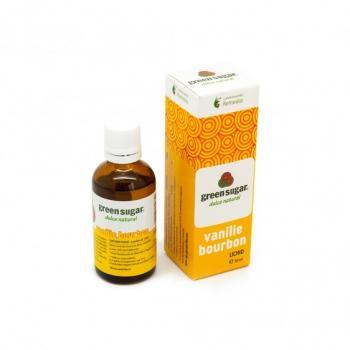 Indulcitor lichid cu aroma de vanilie bourbon 50 ml REMEDIA