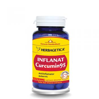 Inflanat curcumin95 60 cps HERBAGETICA