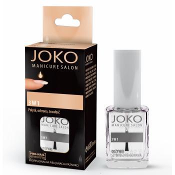 Intaritor pentru unghii 3 in 1 luciu,protectie,durabilitate 10 gr JOKO