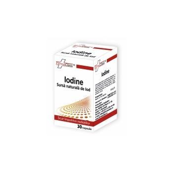 Iodine sursa naturala de iod 30 cps FARMACLASS