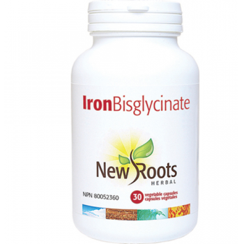 Iron bisglycinate 30 cps NEW ROOTS