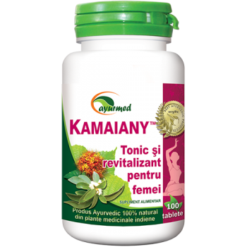 Kamaiany, tonic si revitalizant pentru femei 100 tbl AYURMED
