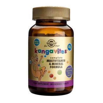 Kangavites multivitamin&mineral formula berry 60 tbl SOLGAR