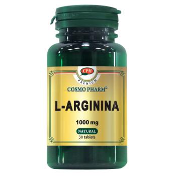 L-arginina 1000 mg 30 cps COSMOPHARM