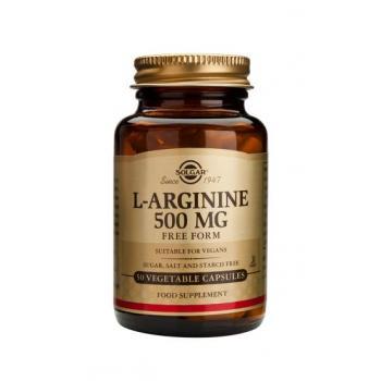 L-arginine 500 mg 50 cps SOLGAR