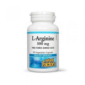 L-arginine amino-acid in forma libera 500mg 90 cps PROVITA