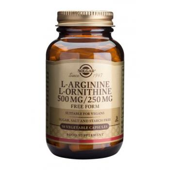 L-arginine l-ornithine 500/250 mg 50 cps SOLGAR