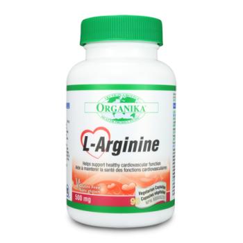 L-arginine 60 cps ORGANIKA