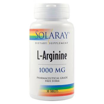 L-arginine 30 tbl SOLARAY