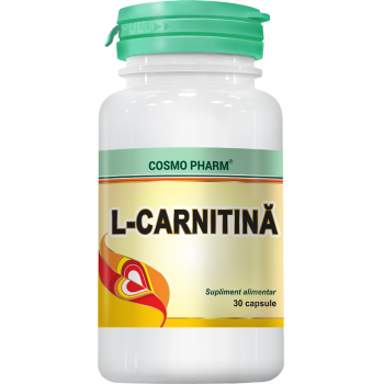L-carnitina 30 cps COSMOPHARM