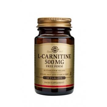 L-carnitine 500 mg 30 cps SOLGAR