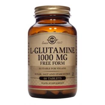 L-glutamine 1000 mg 60 tbl SOLGAR