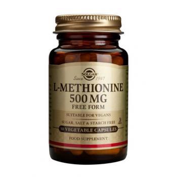 L-methionine 500 mg 30 cps SOLGAR