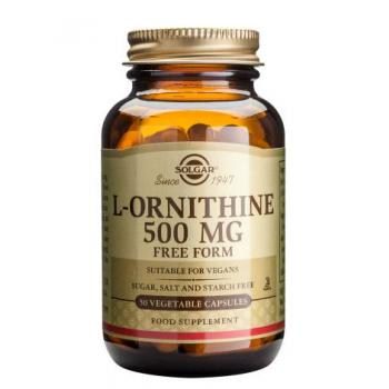 L-ornithine 500 mg 50 cps SOLGAR