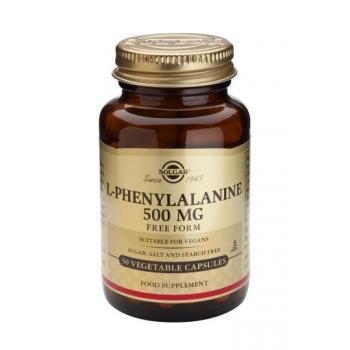L-phenylalanine 500 mg 50 cps SOLGAR