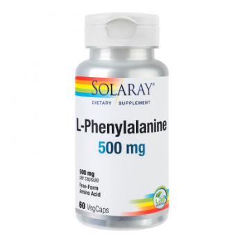 L-phenylalanine 500mg 60 cps SOLARAY