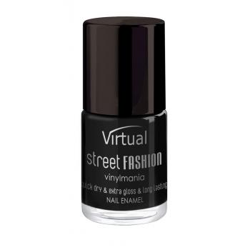 Lac de unghii virtual street fashion black 01 10 gr VIRTUAL STREET FASHION