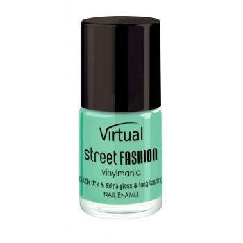 Lac de unghii virtual street fashion mint cocktail 07 10 gr VIRTUAL STREET FASHION