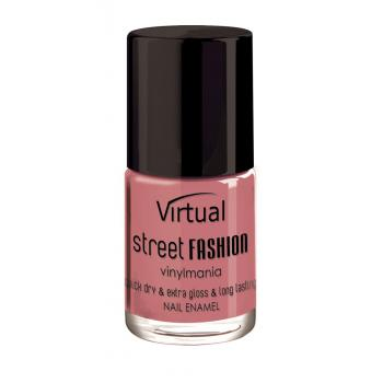 Lac de unghii virtual street fashion mysterious rose 16 10 gr VIRTUAL STREET FASHION