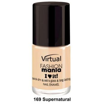 Lac de unghii virtual street fashion nr 169 supernatural 10 gr VIRTUAL STREET FASHION