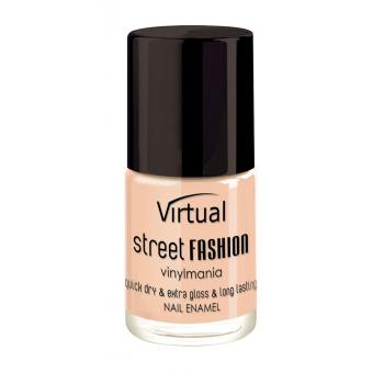 Lac de unghii virtual street fashion peach club 18 10 gr VIRTUAL STREET FASHION