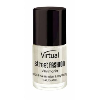 Lac de unghii virtual street fashion pearl white 34 10 gr VIRTUAL STREET FASHION