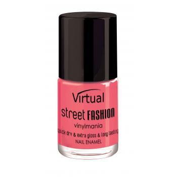 Lac de unghii virtual street fashion satin rose 30 10 gr VIRTUAL STREET FASHION