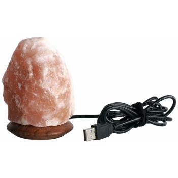 Lampa din cristale de sare natural, cu usb 1 gr MONTE