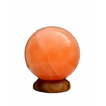 Lampa electrica din cristale de sare glob feng shui 1 gr MONTE