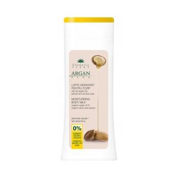 Lapte de corp hidratant cu ulei de argan bio si extract bio de aloe vera 200 ml COSMETIC PLANT