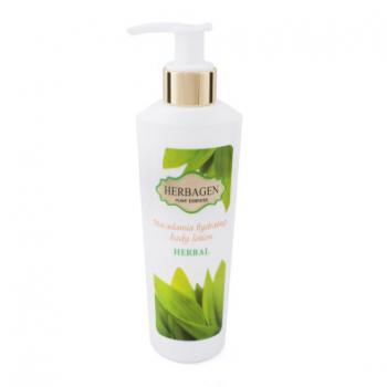 Lapte de corp hidratant herbal cu ulei de macadamia 200 ml HERBAGEN